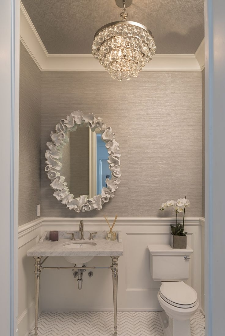 Popular Chandeliers Design : Wonderful Bathroom Chandeliers Ideas Stained For Mini Bathroom Chandeliers (View 15 of 20)