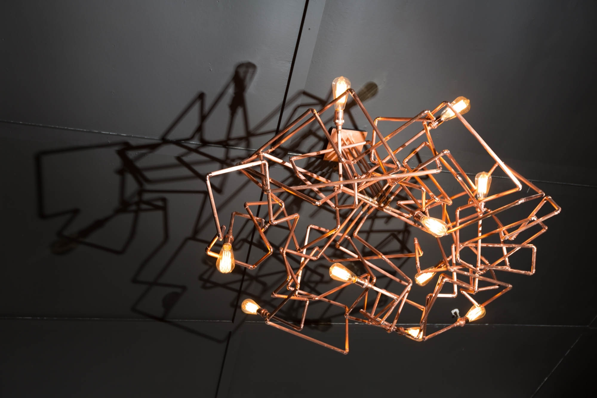 Popular Copper Chandelier Intended For Chandeliers Design : Marvelous Copper Chandelier Luxury About (View 8 of 20)