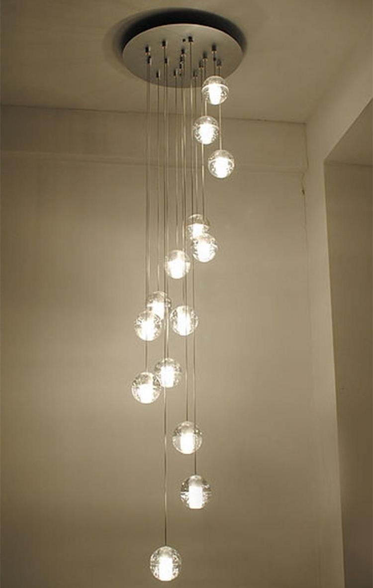 Popular Lighting : Pendant Fixture Hanging Ceiling Light Fixtures Orange With Large Modern Chandeliers (View 16 of 20)