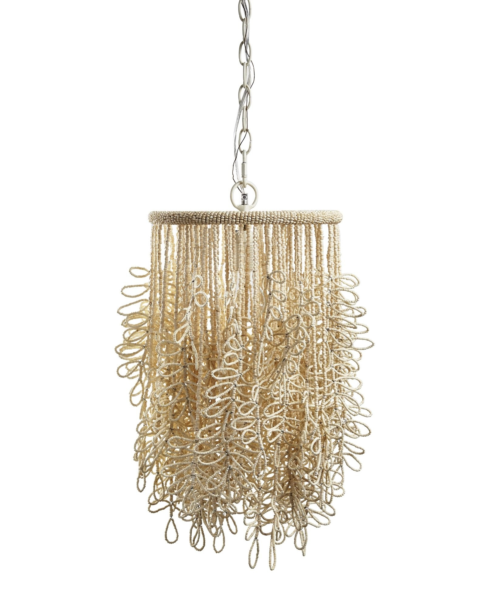Popular Lily Chandeliers In Beaded Fringe Y Pendant Light – Like The Organic Feel It Has (View 8 of 20)
