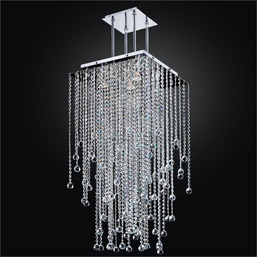 20 best ideas of long chandelier popular long chandelier within long crystal chandelier square crystal chandelier view 15 of 20 aloadofball Images