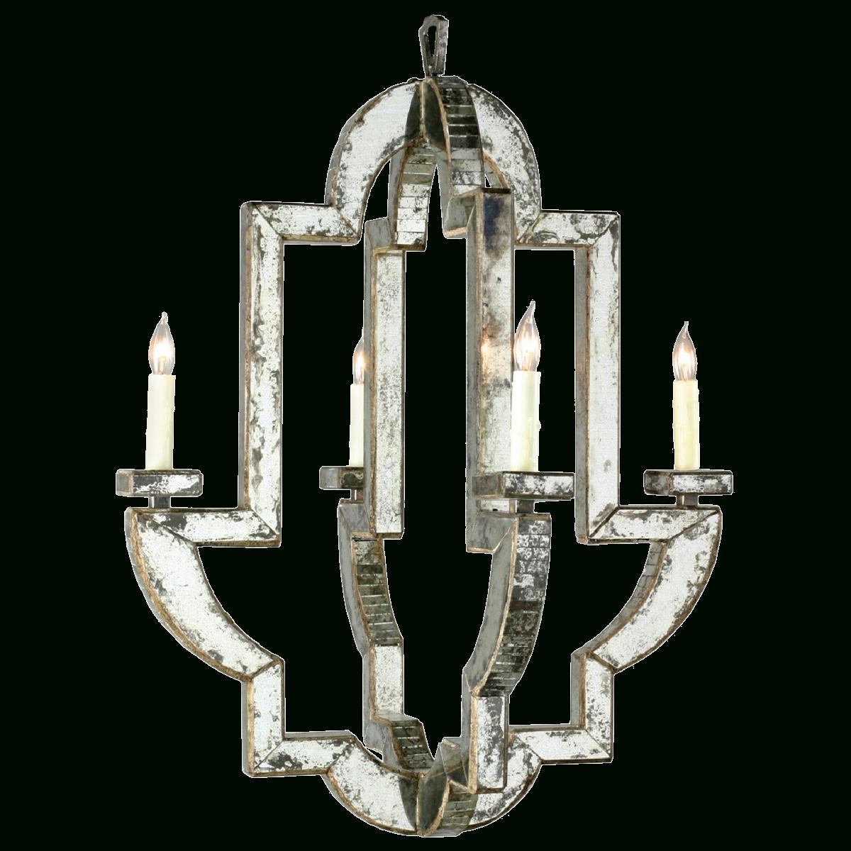 Popular Mirrored Chandelier For Viyet – Designer Furniture – Lighting – Niermann Weeks Monaco Chandelier (View 17 of 20)