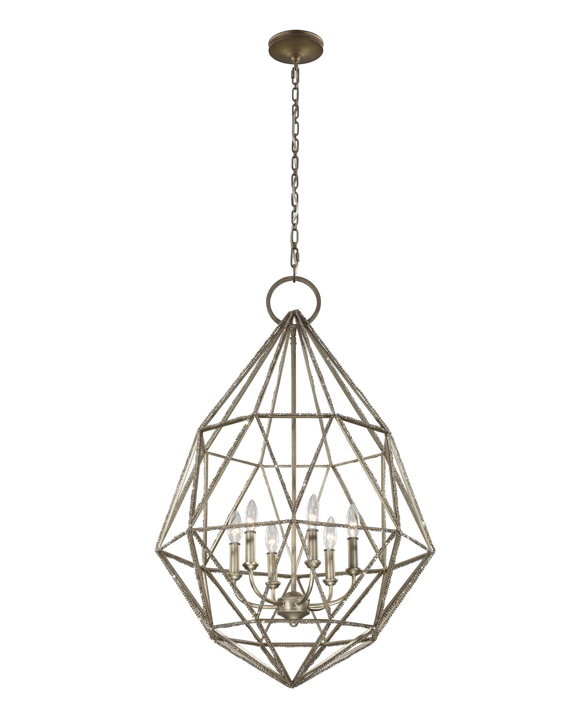 Popular Murray Feiss F2942 6 Marquise 25 Inch Wide 6 Light Chandelier Throughout Feiss Chandeliers (View 18 of 20)
