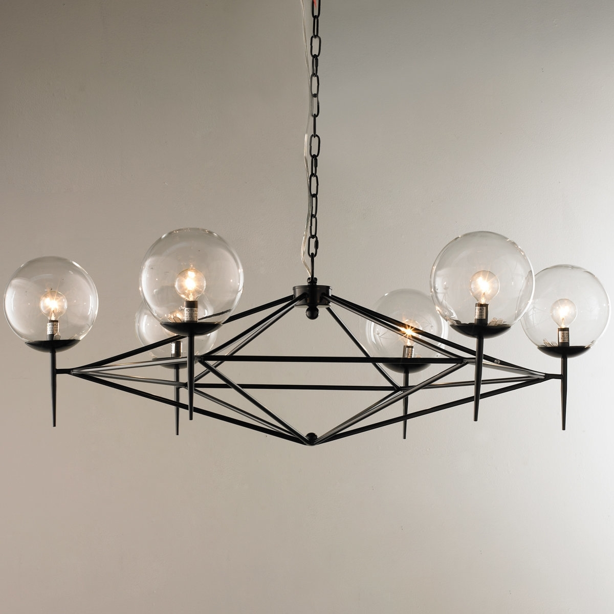 Preferred Contemporary Black Chandelier Inside Home Design : Delightful Modern Black Chandelier 41Hxrfju32L Sl (View 14 of 20)
