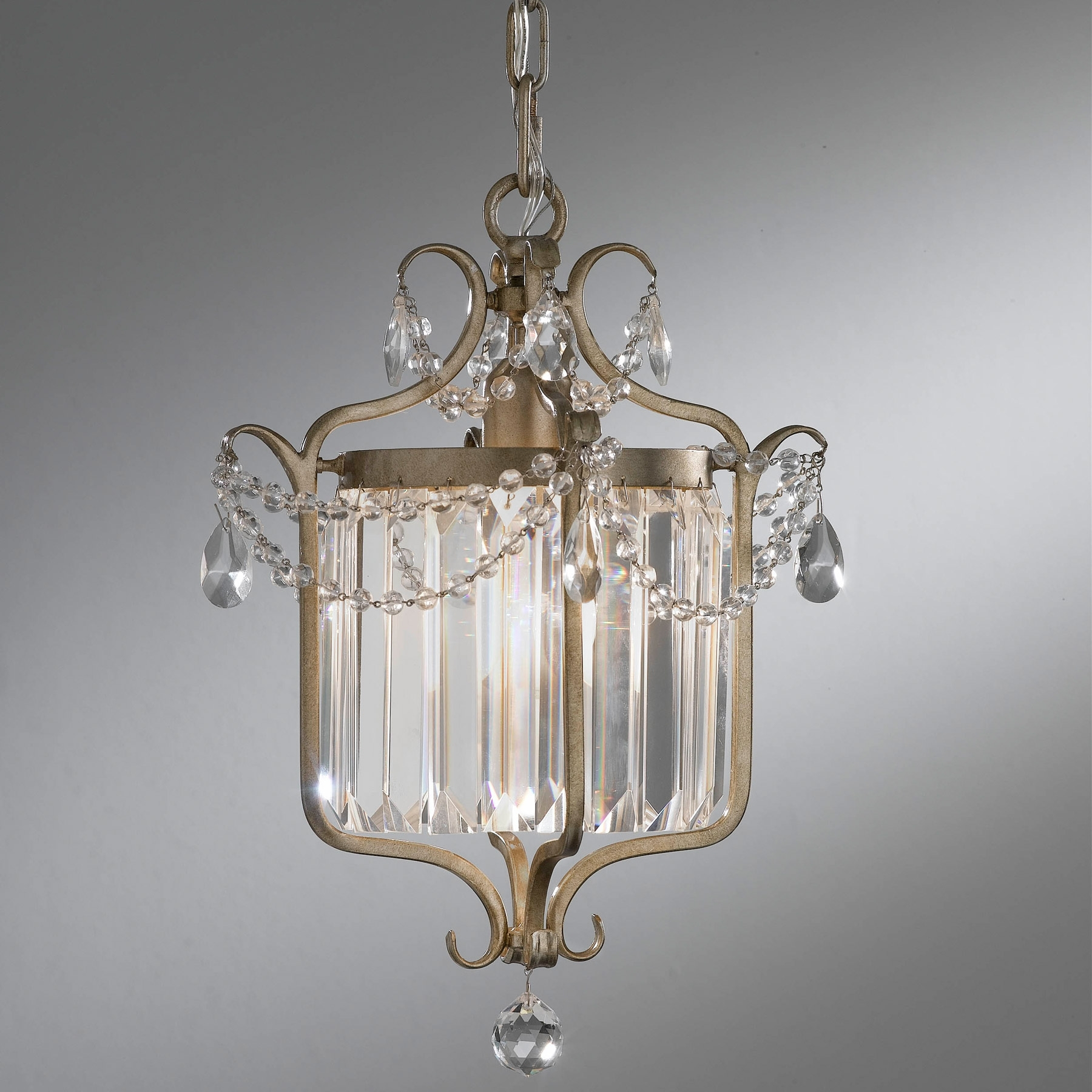 Preferred F2473/1Gs Crystal Gianna Mini Chandelier With Gianna Mini Chandeliers (View 3 of 20)