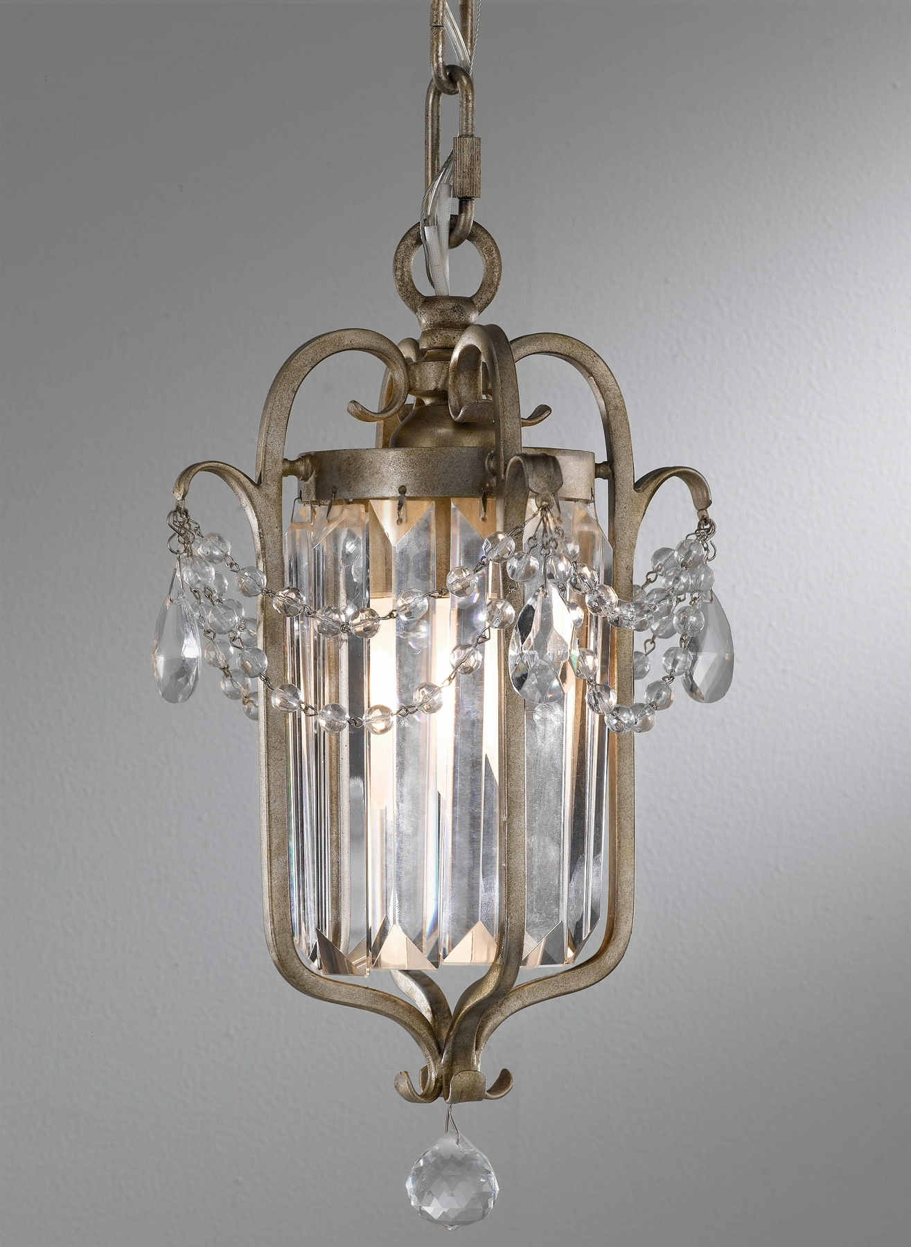Preferred Feiss F2474/1Gs Crystal Gianna Mini Chandelier With Gianna Mini Chandeliers (View 2 of 20)