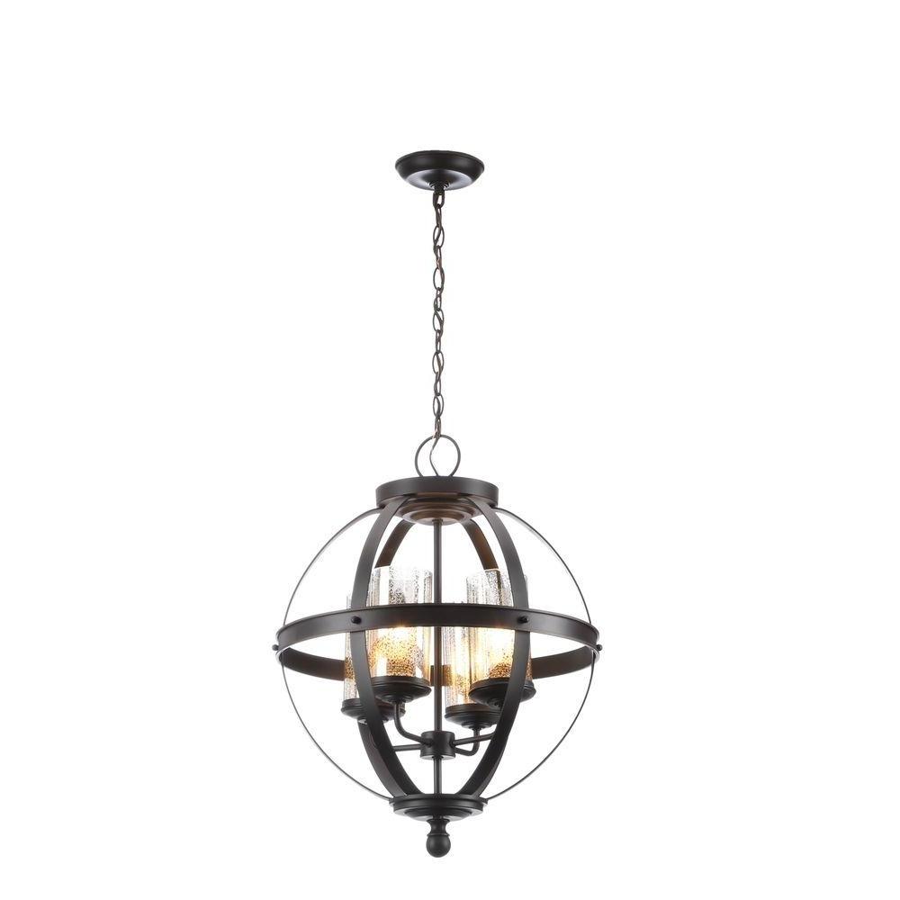 Preferred Globe Chandeliers Inside Globe – Chandeliers – Lighting – The Home Depot (View 7 of 20)