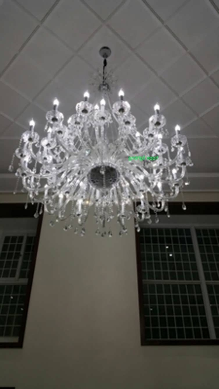 Preferred Huge Crystal Chandelier Inside Chandeliers Design : Amazing Huge Crystal Chandelier Orb Large (View 18 of 20)