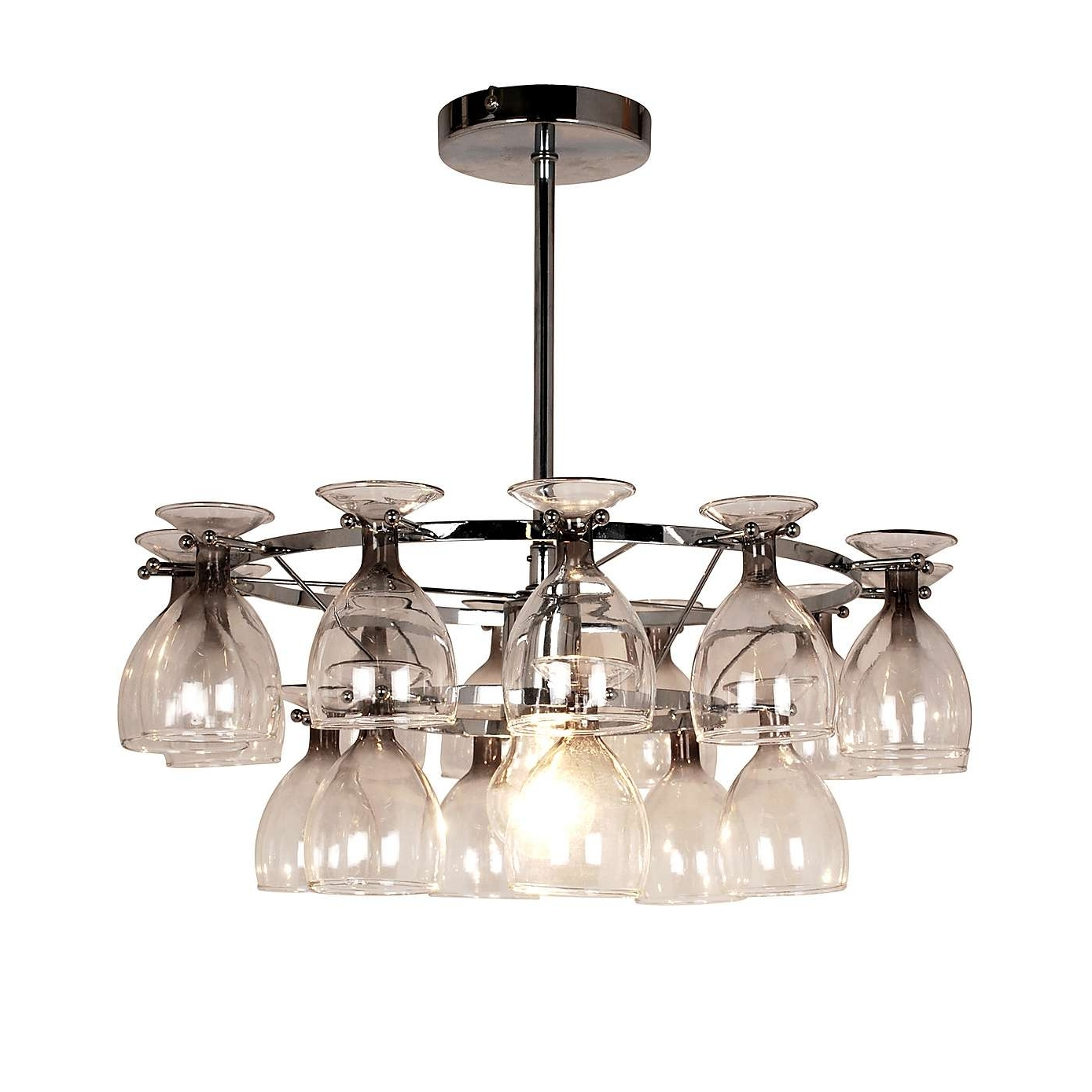 Preferred Light Fitting Chandeliers Intended For 5 Beautiful Wine Glass Light Fittings (View 10 of 20)