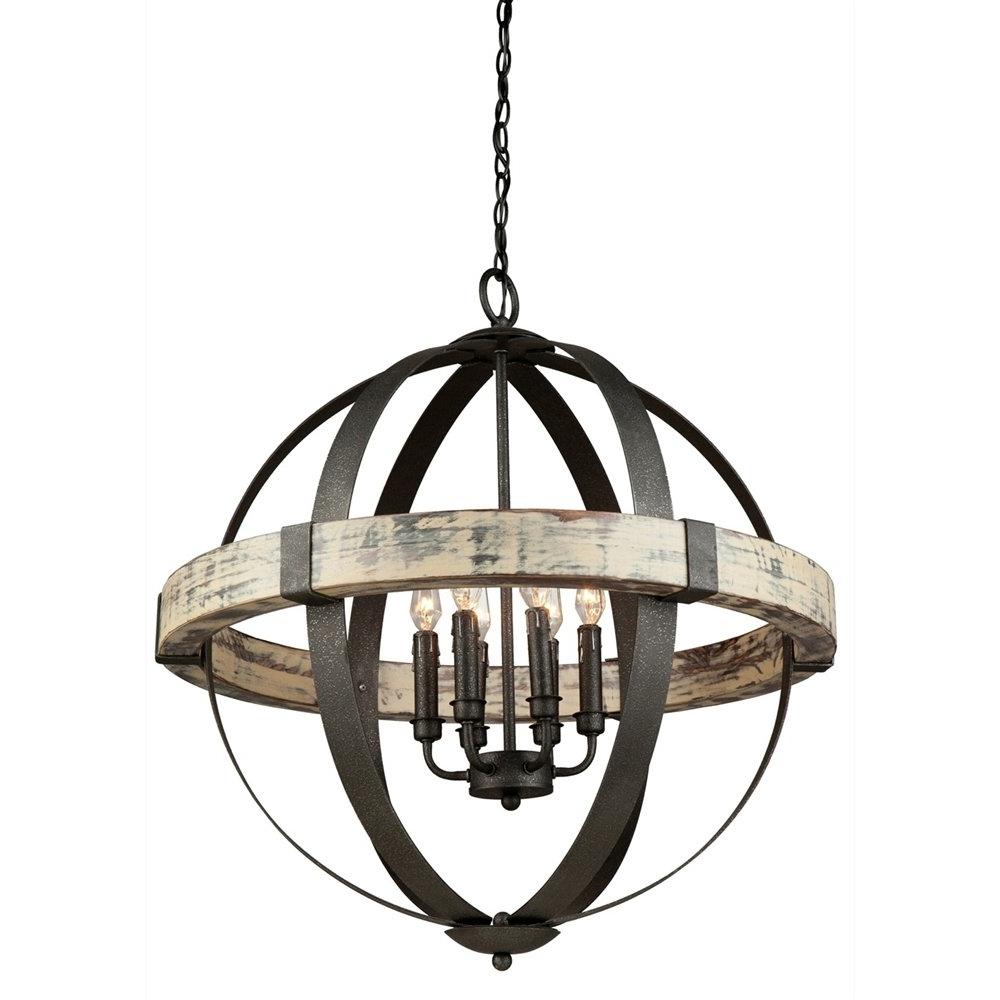 Preferred Metal Sphere Chandelier Regarding Lighting: Metal Sphere Chandelier For Dining Room Decorating Ideas (View 16 of 20)