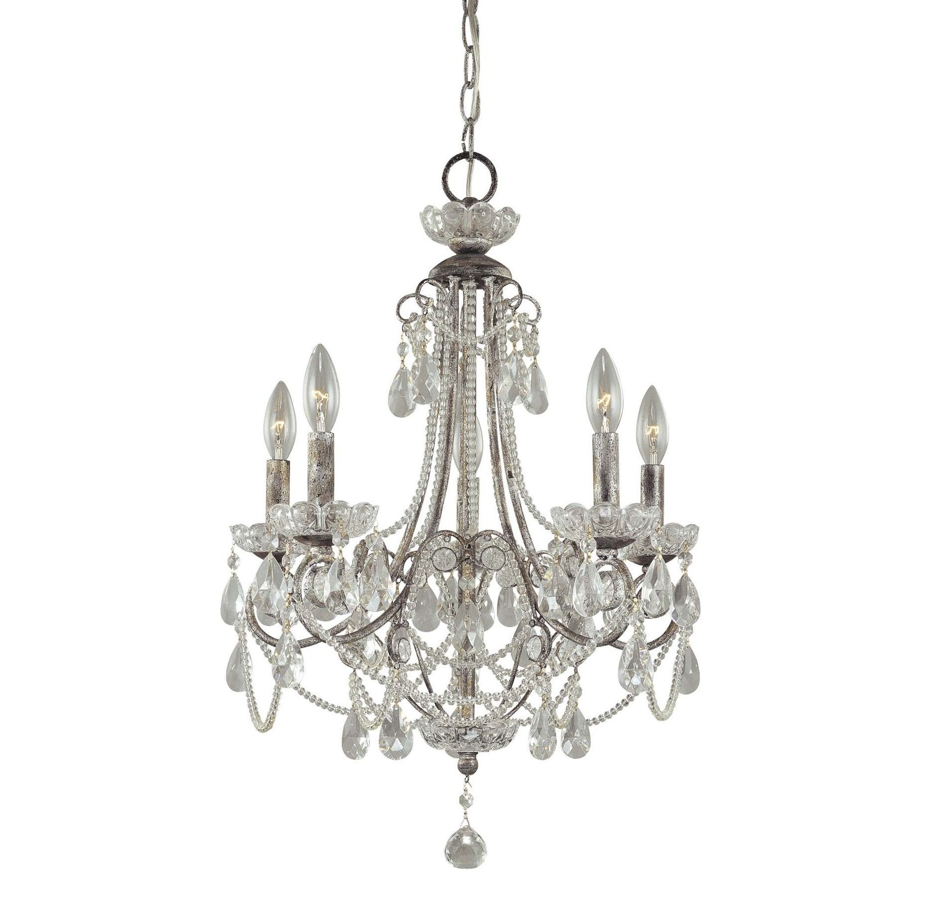 Preferred Mini Crystal Chandeliers Regarding Innovative Small Bathroom Chandelier Crystal Chandelier Lighting (View 19 of 20)