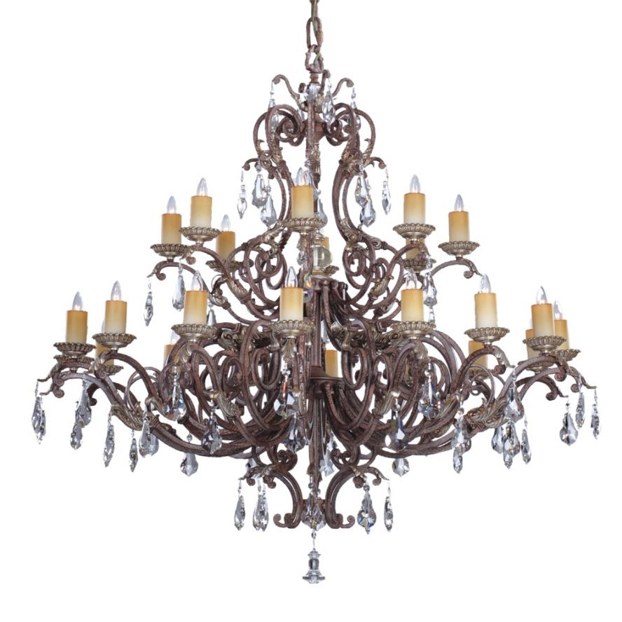 Preferred Savoy House Chandeliers With Regard To Products · Viena 24 Light Chandelier · Savoy House Europe. S.l (View 13 of 20)