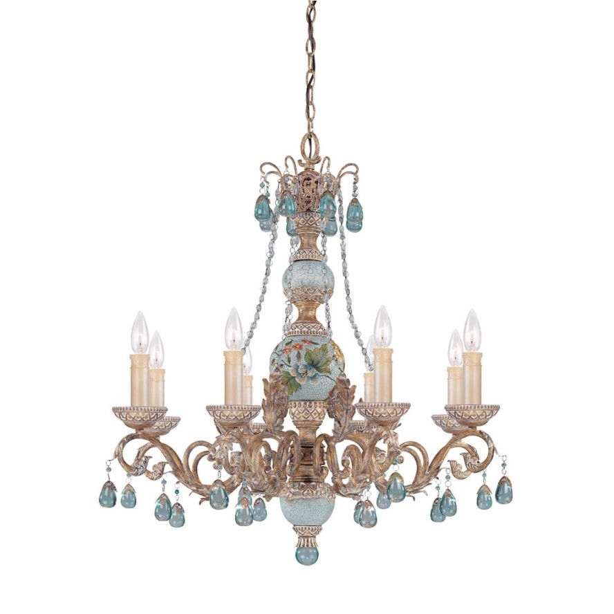 Products · Cerulean 8 Light Chandelier · Savoy House Europe. S.l (View 17 of 20)