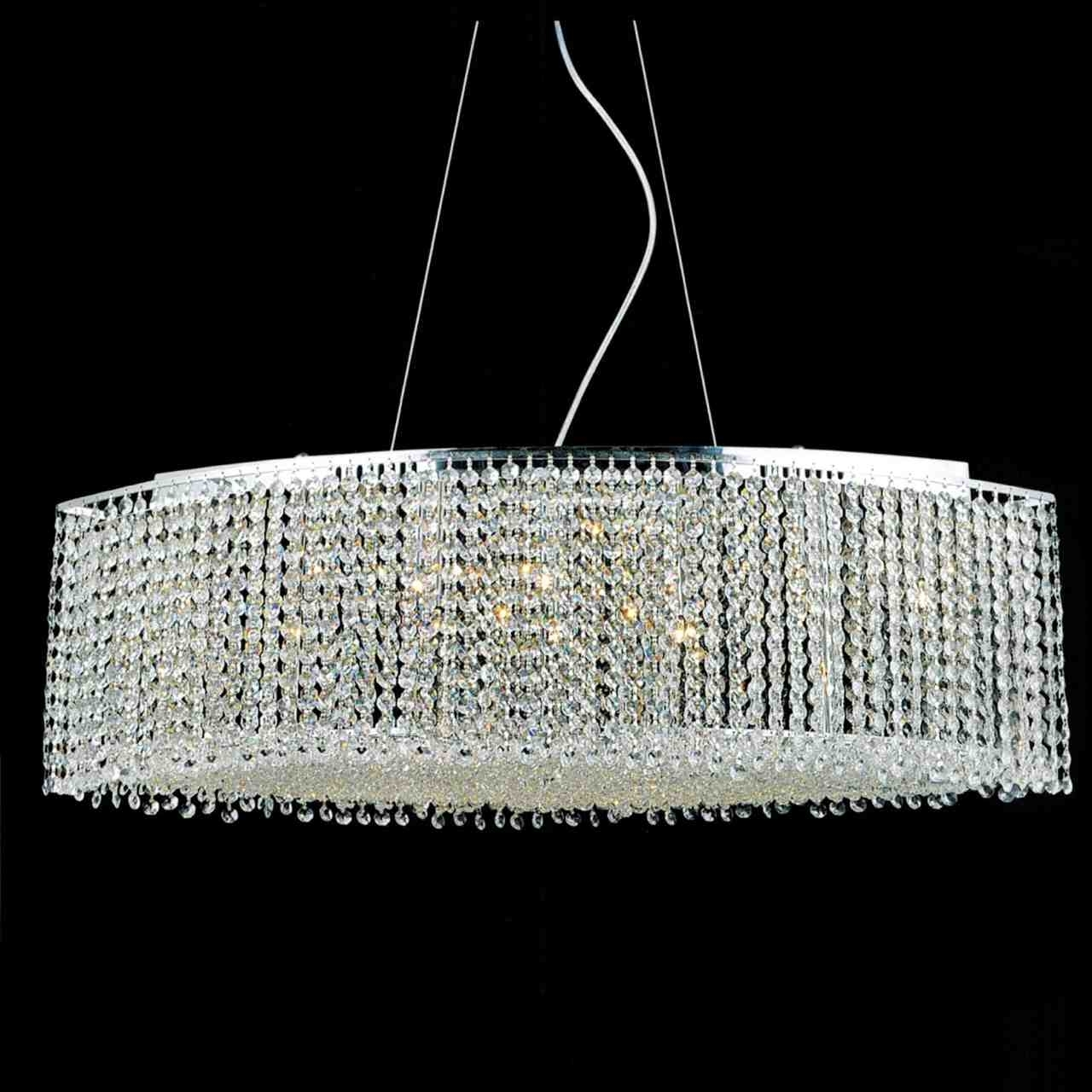 Purple Crystal Chandelier Lighting Pertaining To Recent Brizzo Lighting Stores (View 3 of 20)