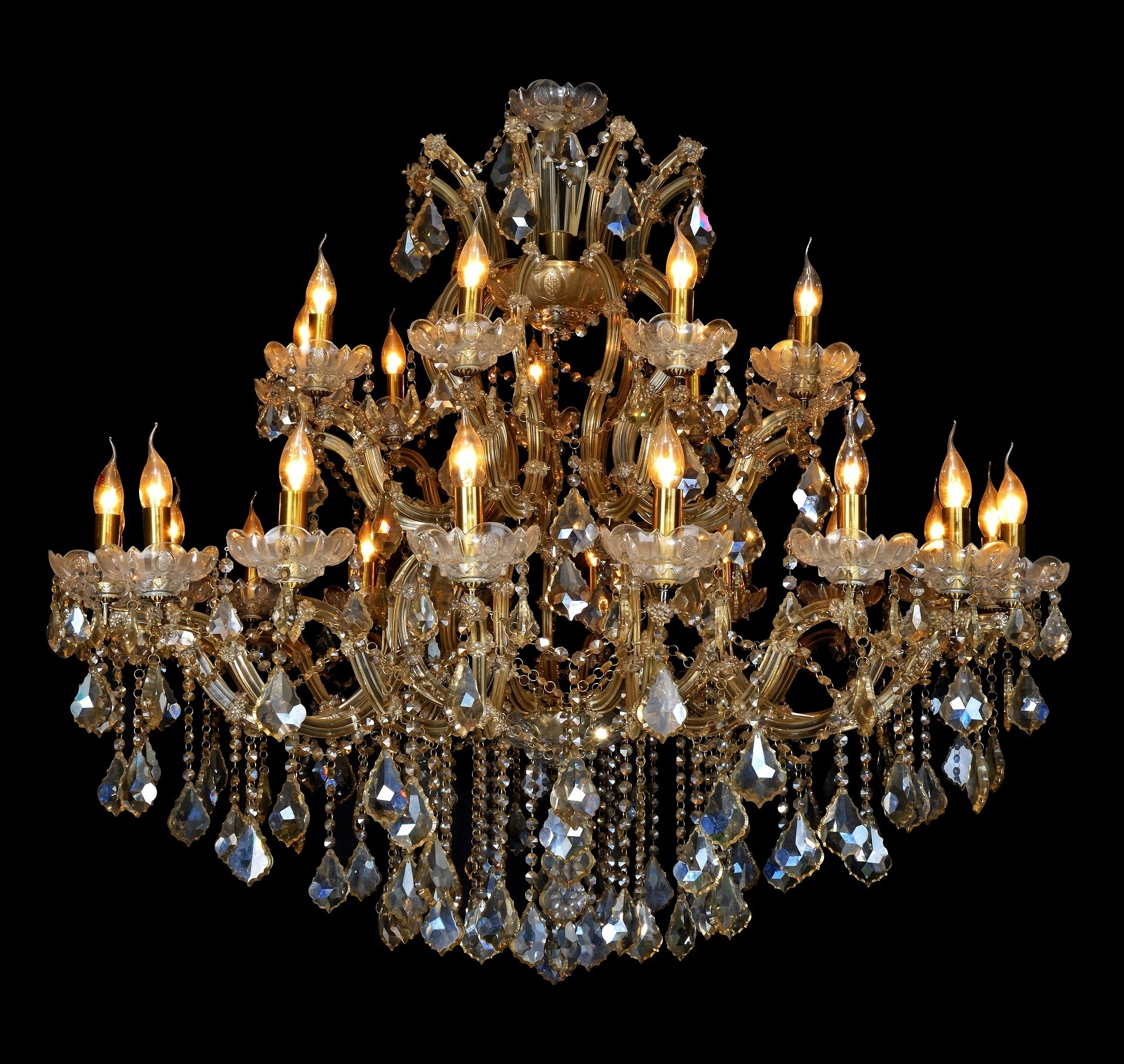 Queen Royal Victoria Of Uk, 27L, 2 Tiers Extra Large Over Size K9 Regarding Most Up To Date Extra Large Crystal Chandeliers (View 19 of 20)