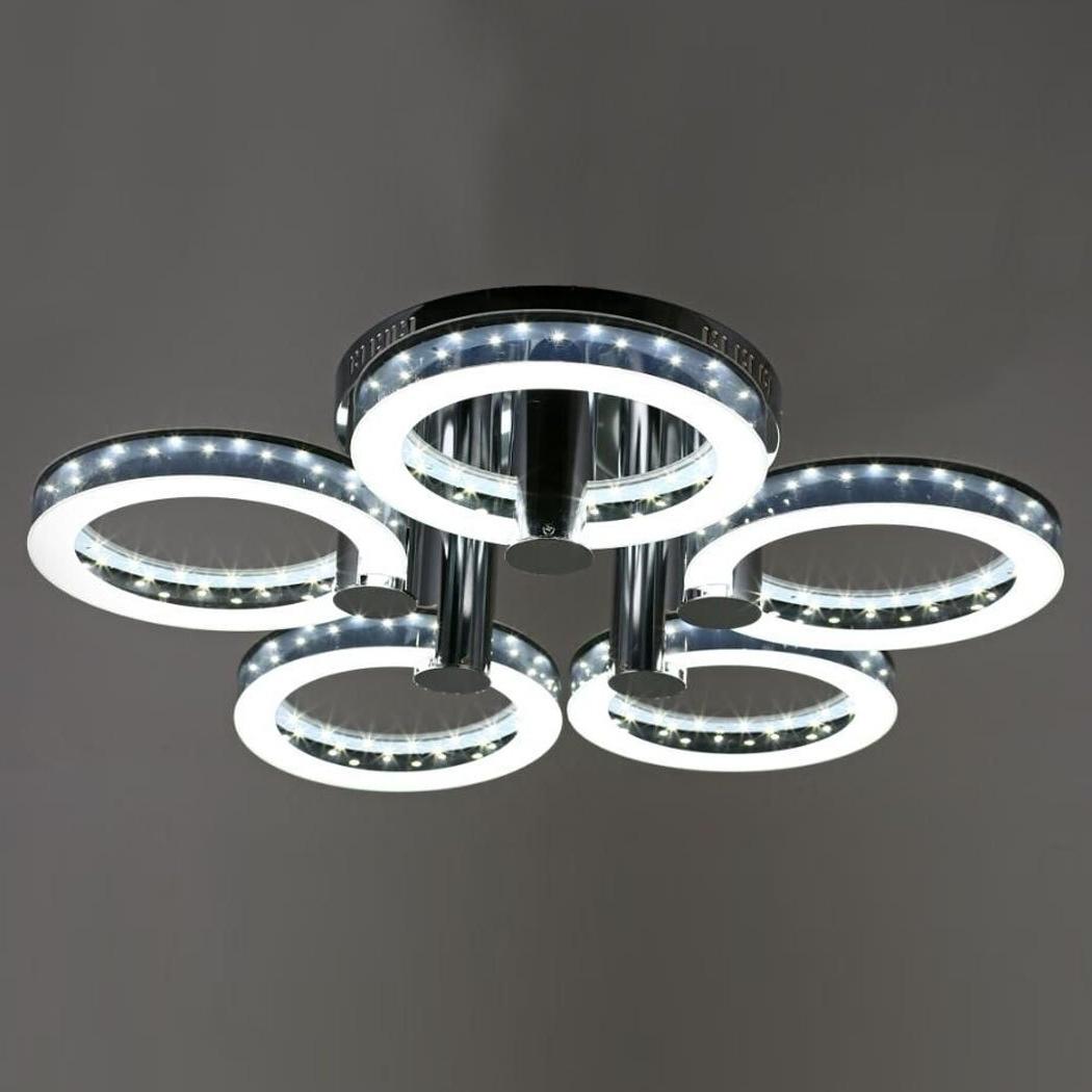 Rakuten: Led Acrylic Chandeliers Ceiling Light Lamp With 5 Regarding Acrylic Chandeliers (View 18 of 20)