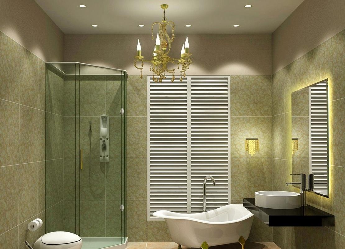 Recent 4 Dreamy Bathroom Lighting Ideas – Midcityeast In Bathroom Lighting Chandeliers (View 13 of 20)