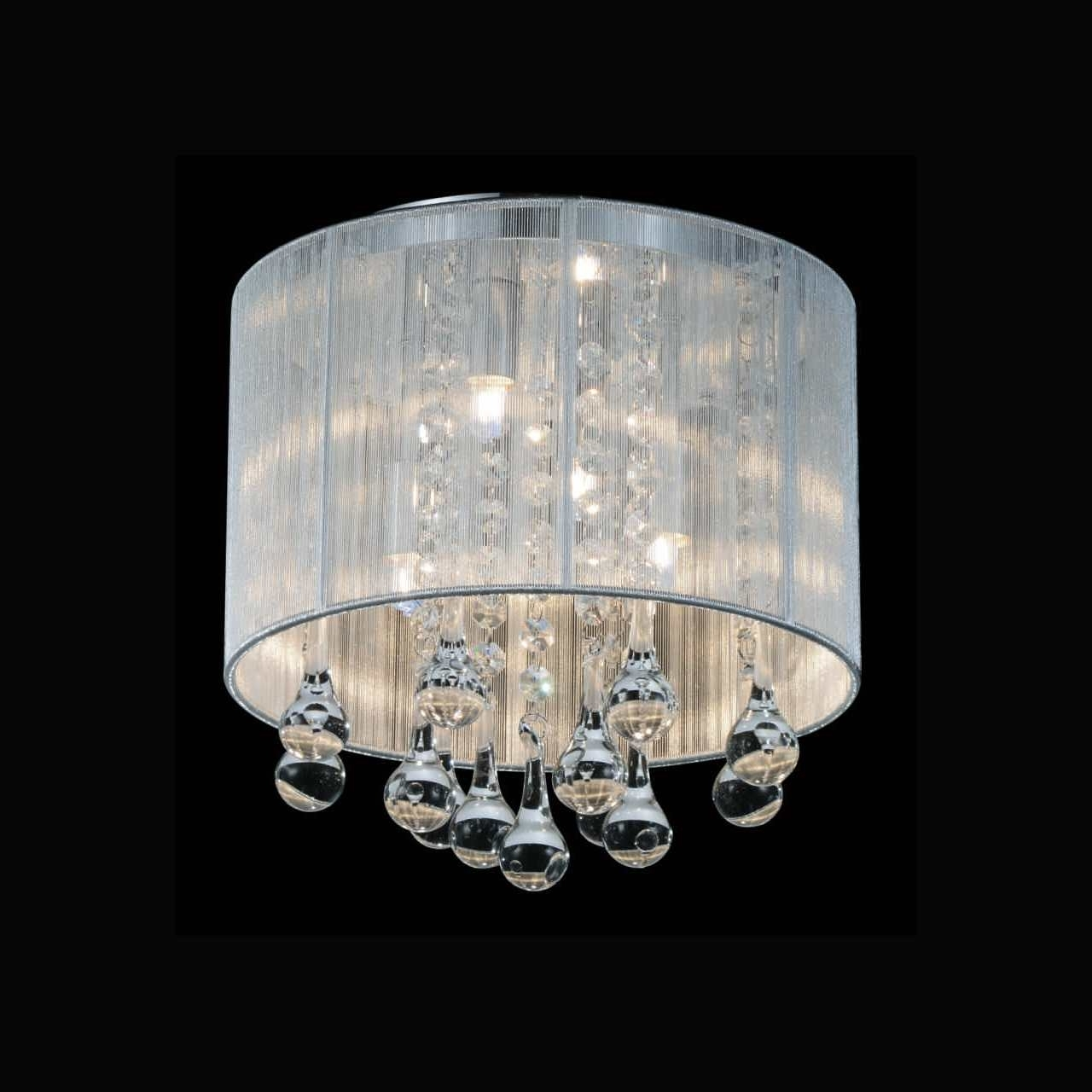Recent 4 Light Crystal Chandeliers With Brizzo Lighting Stores (View 15 of 20)
