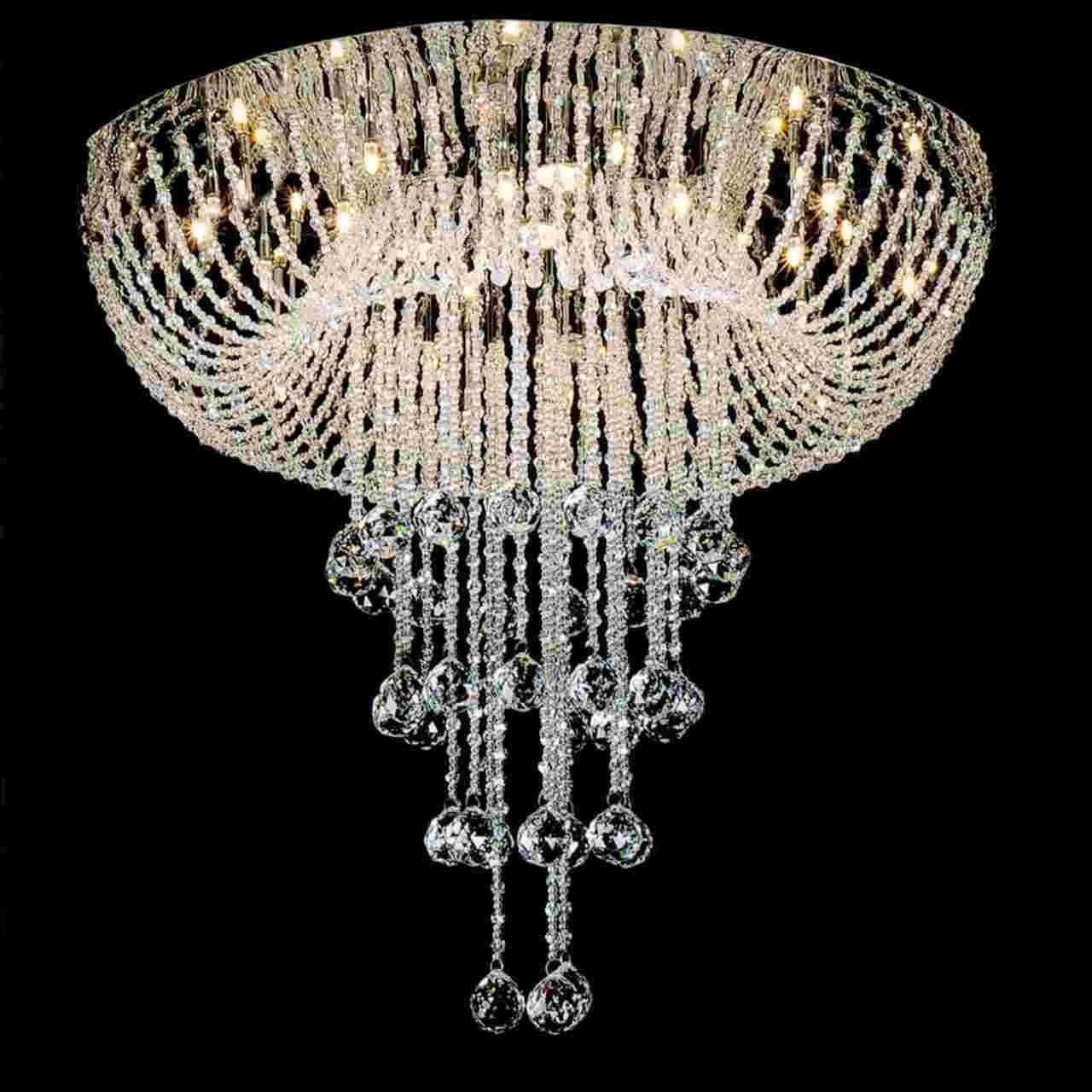 Recent Chandeliers Design : Awesome Long Chandelier Search Crystal Meerosee With Long Hanging Chandeliers (View 11 of 20)