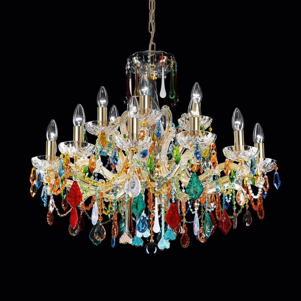 Recent Chandeliers Design : Marvelous Vintage Brass Chandelier Victorian Within Funky Chandeliers (View 5 of 20)