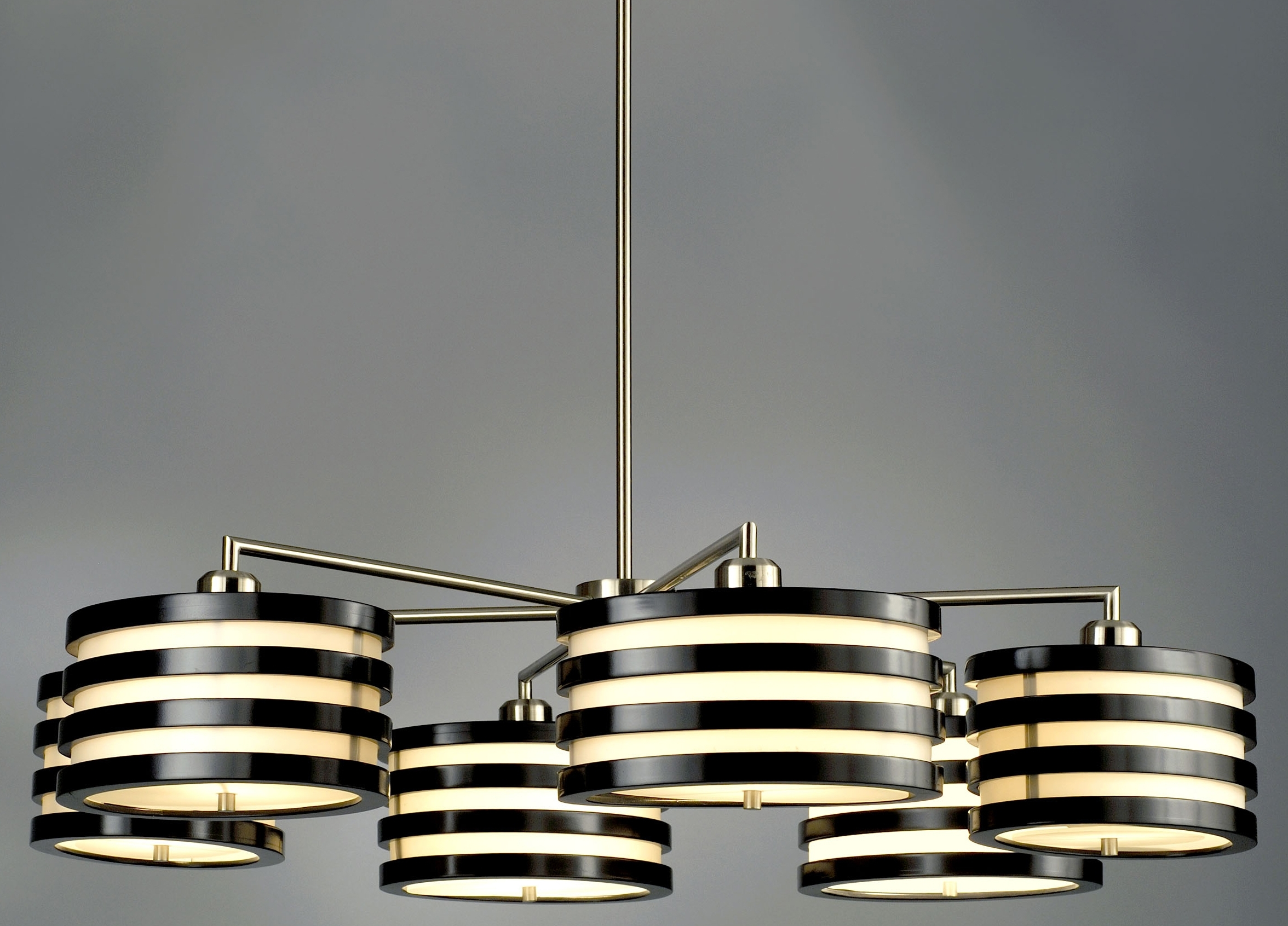 Recent Contemporary Modern Chandelier For Home Decor + Home Lighting Blog » Blog Archive » Nova Lighting Kobe (View 7 of 20)