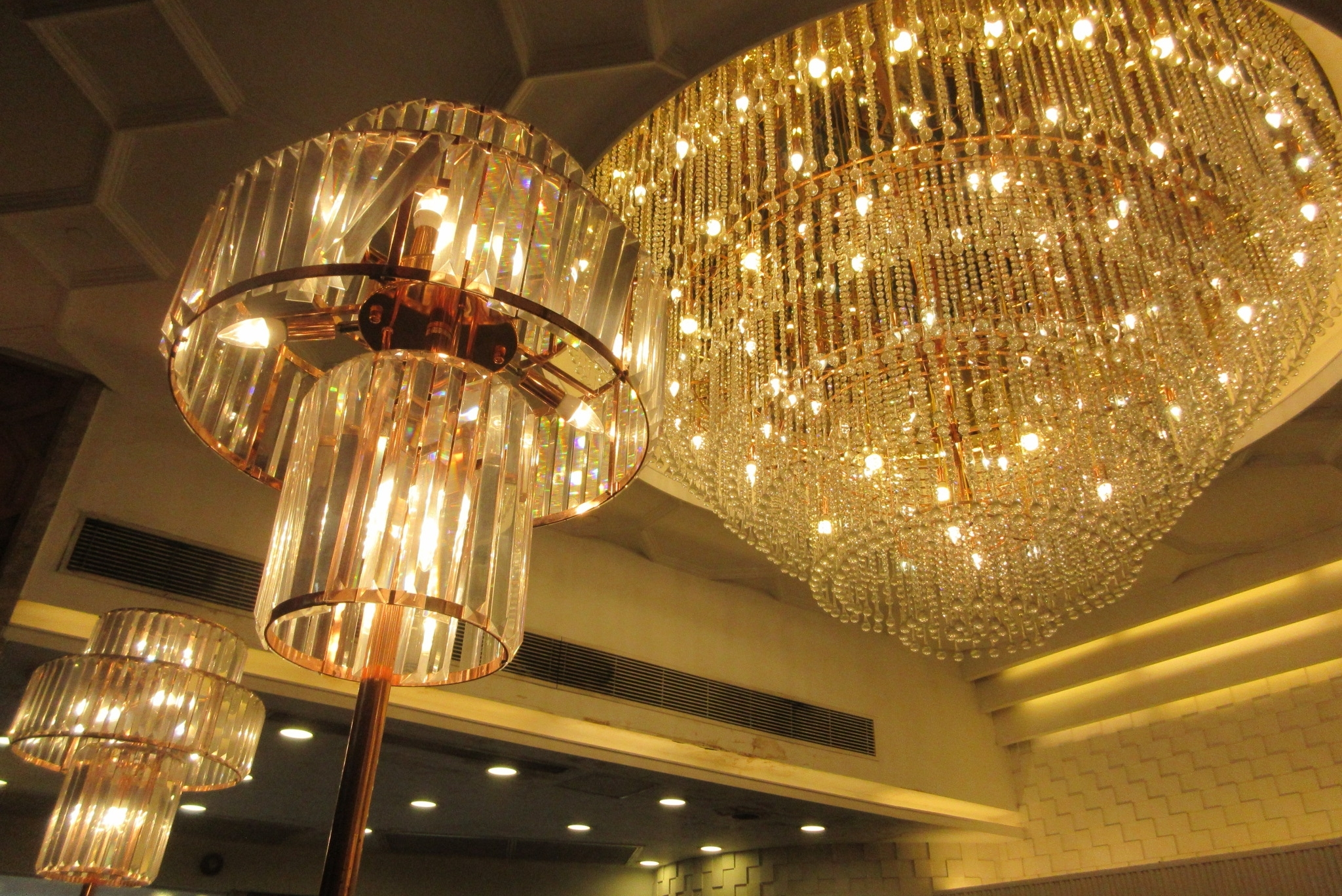 Recent File:hk Sai Ying Pun 明星海鮮酒家 Star Seafood Restaurant For Restaurant Chandeliers (View 7 of 20)