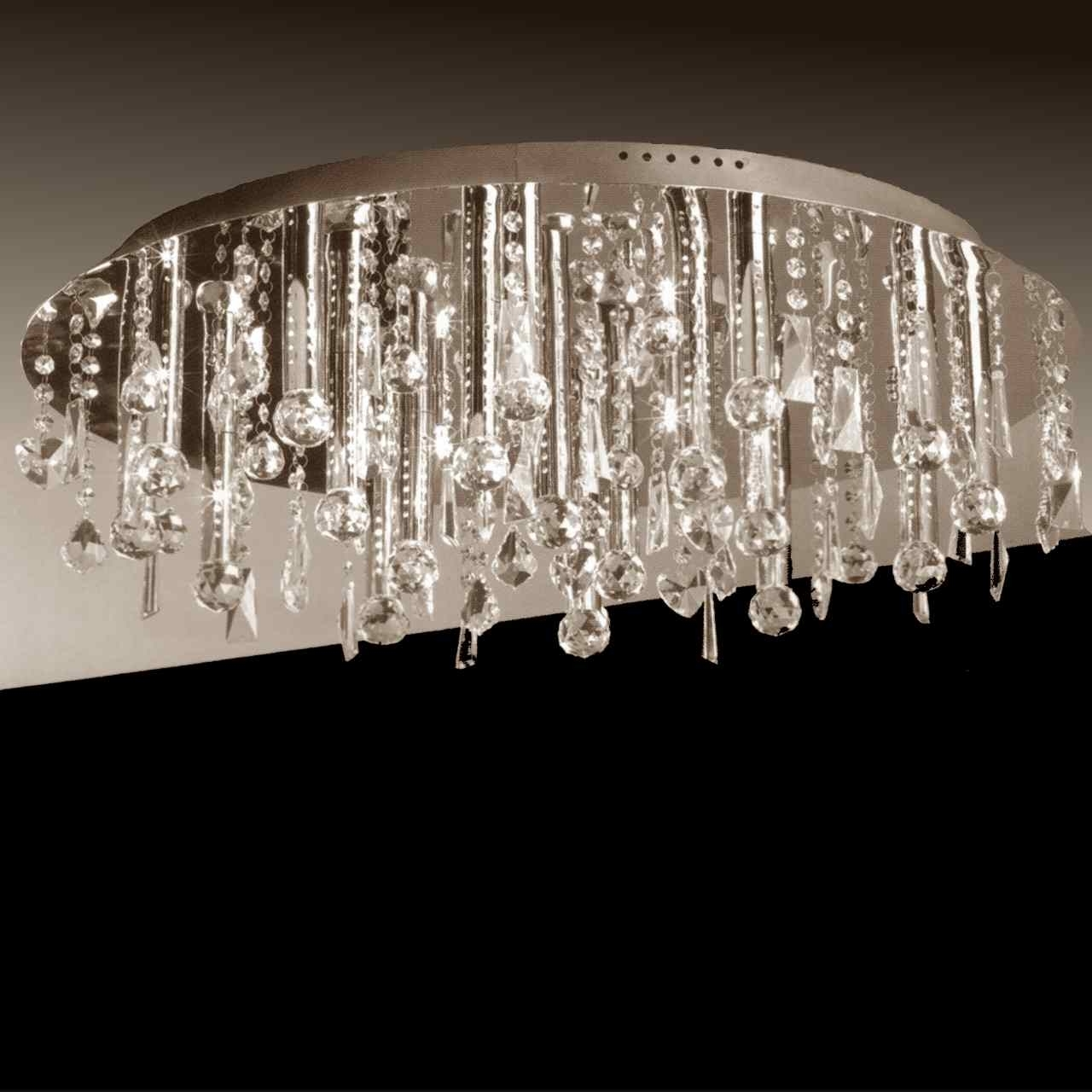 Recent Flush Chandelier Pertaining To Brizzo Lighting Stores (View 3 of 20)