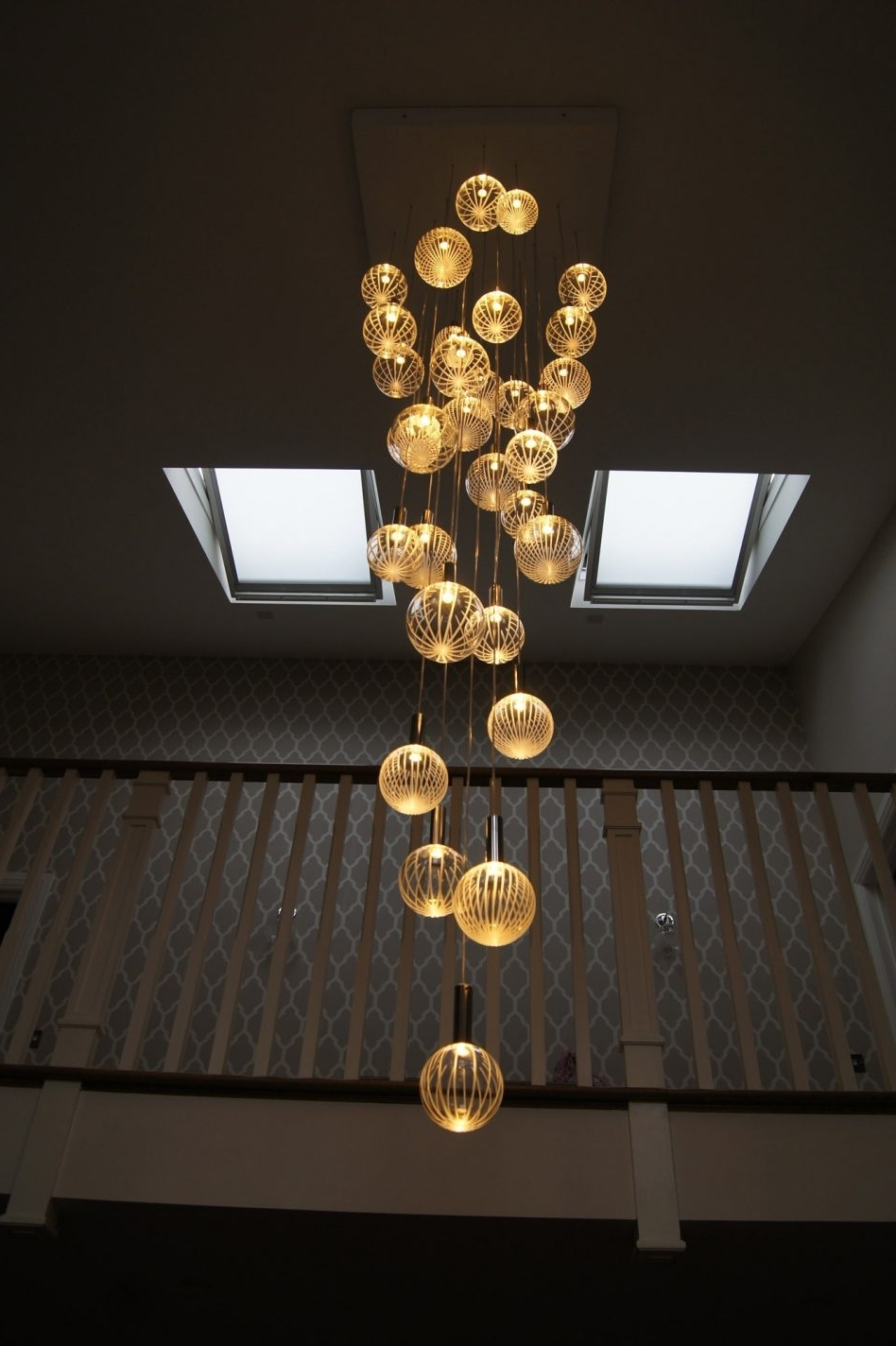 Recent Large Modern Chandeliers For Branch Chandeliers Colored Chandelier Led Ceiling For  Large (View 18 of 20)