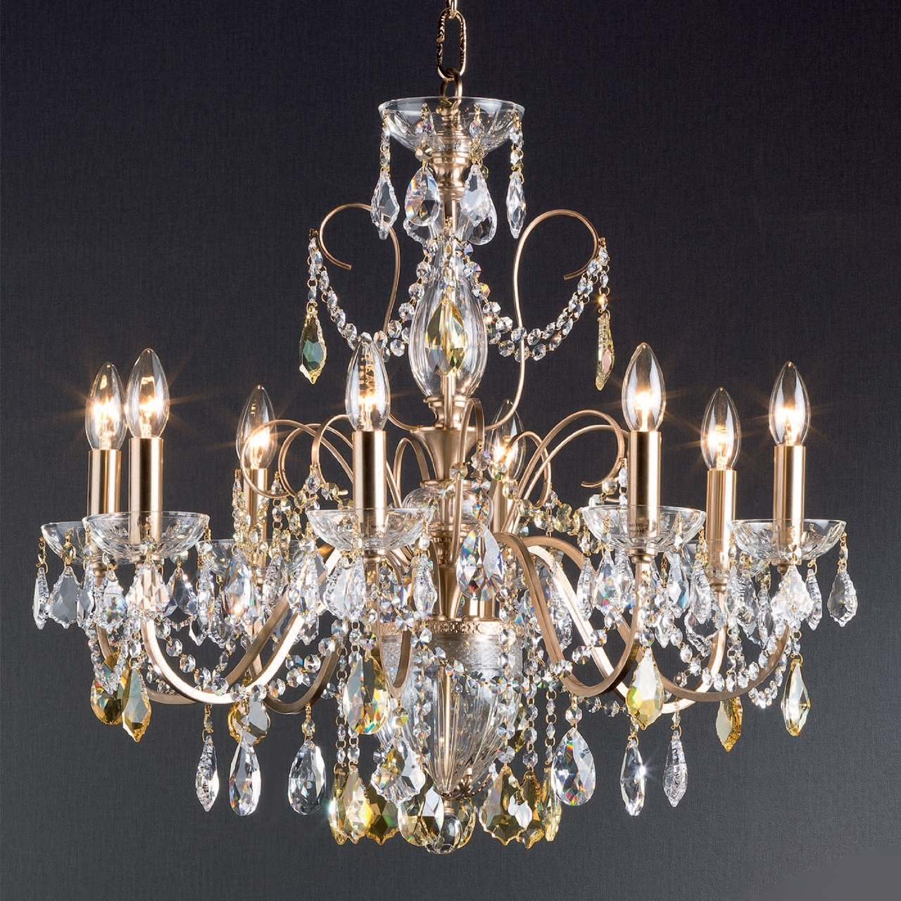 Recent Metal Chandeliers : C – 313 / 8 In Metal Chandeliers (View 15 of 20)