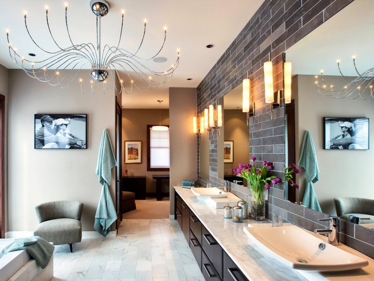 Recent Modern Bathroom Chandelier Lighting With Bathroom Lighting Fixtures (View 18 of 20)