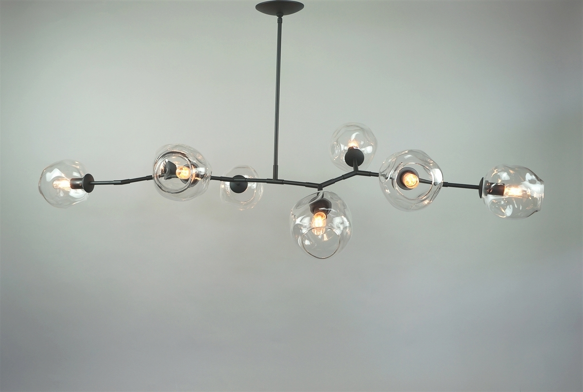 Recent Modern Chandelier Intended For Branching Bubble Modern Chandelier (View 18 of 20)