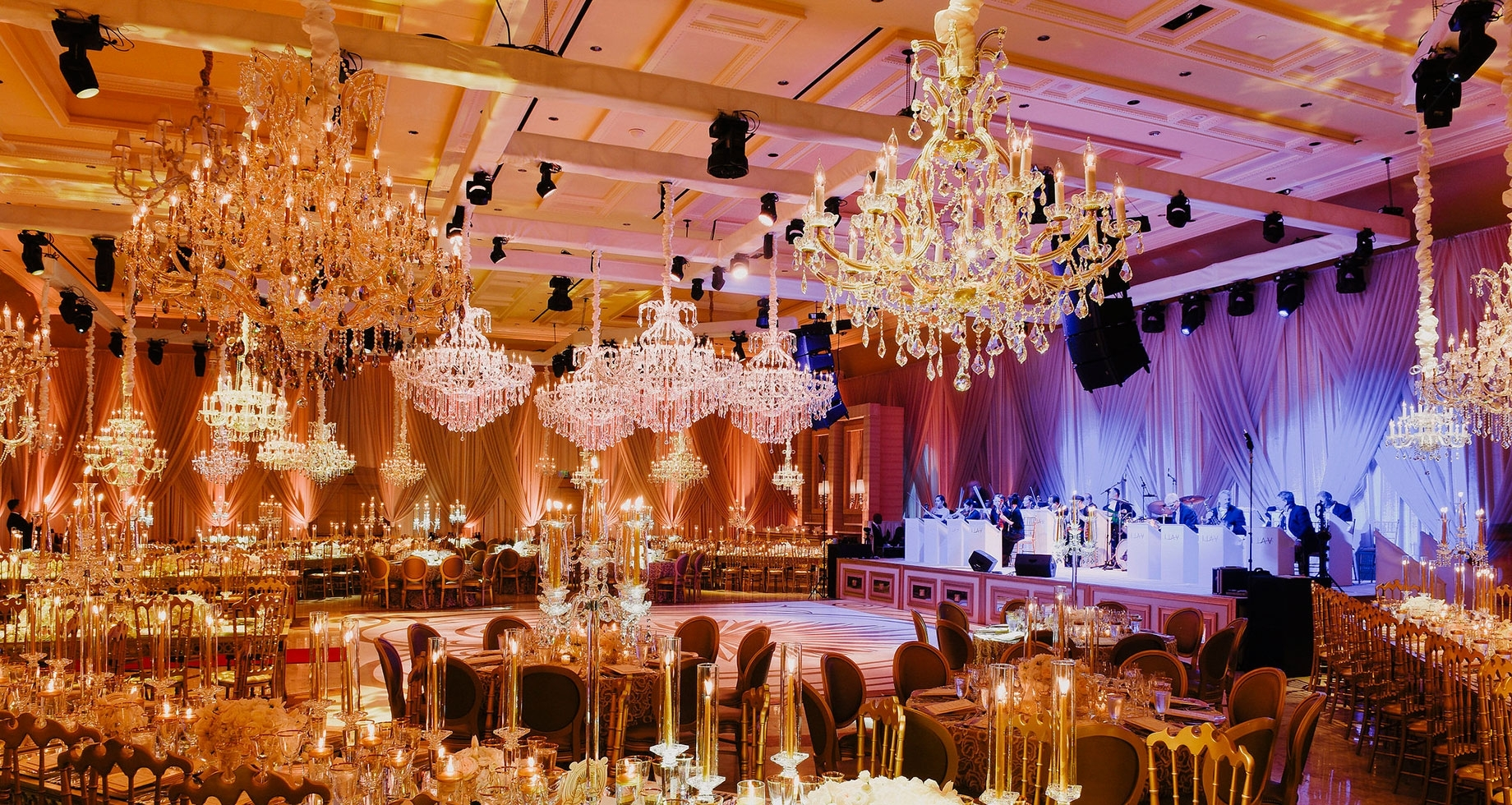 Rentals For Wedding & Events With Regard To Well Liked Ballroom Chandeliers (View 6 of 20)