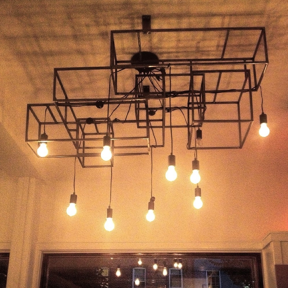 Restaurant Chandeliers Intended For Preferred Esmé Restaurant, Nyc — Hedron Studio (View 13 of 20)