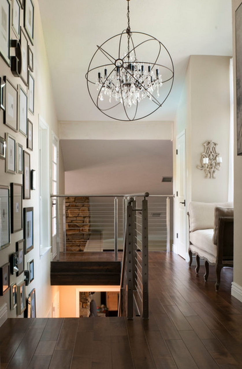 Restoration Hardware Foucault's Orb Crystal Iron Chandelier (View 18 of 20)