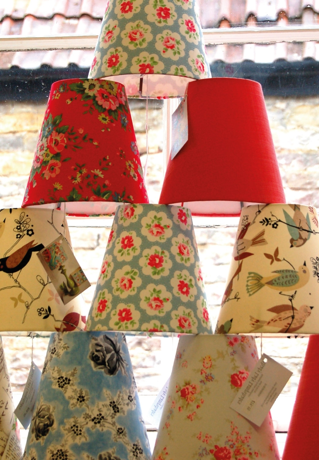 Retro Lampshades (View 17 of 20)