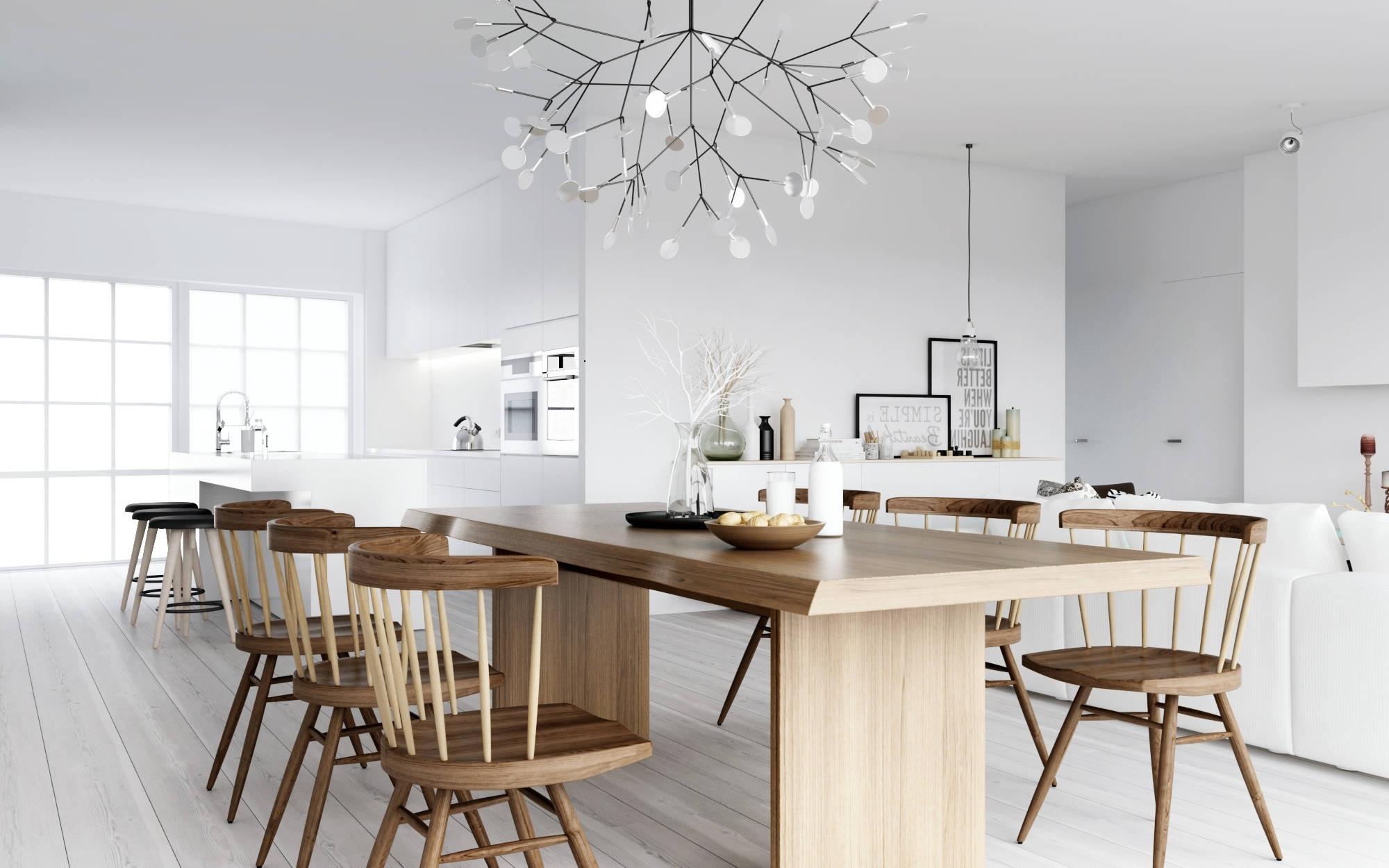 Scandinavian Chandeliers For Most Recent Luxury Tech Lighting Chandeliers Atdesign Wooden Dining Nordic Style (View 6 of 20)