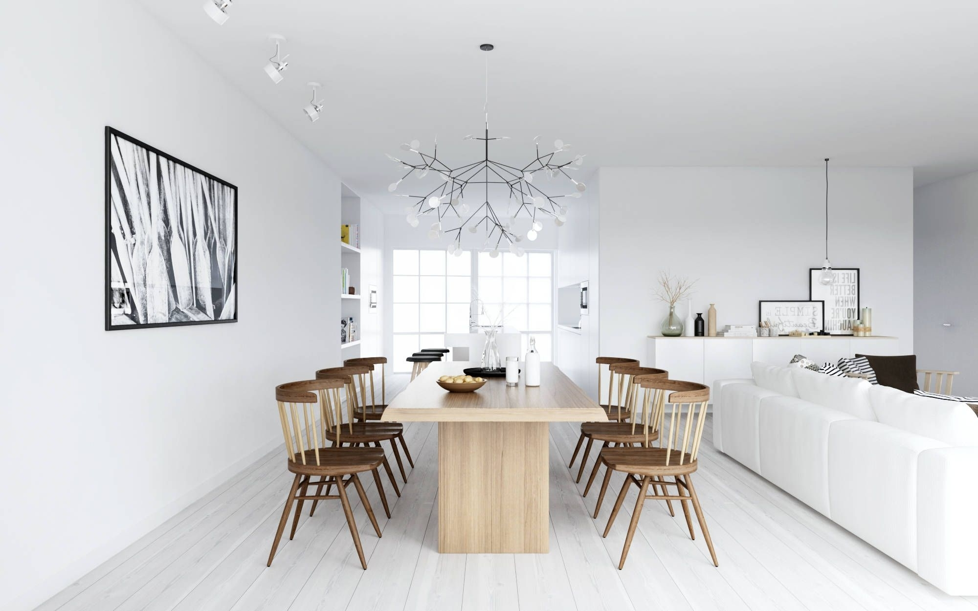 Scandinavian Chandeliers Throughout Most Up To Date Scandinavian Interior Design Style (View 13 of 20)