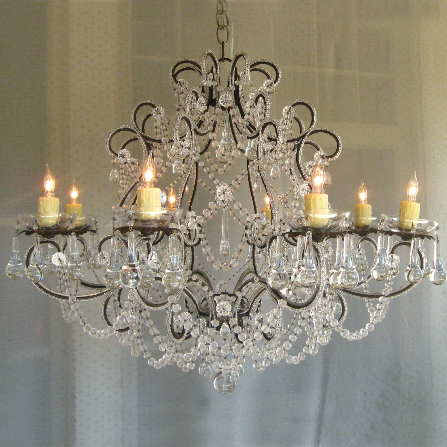 Shabby Chic Chandeliers Within Widely Used Chandelier (View 20 of 20)