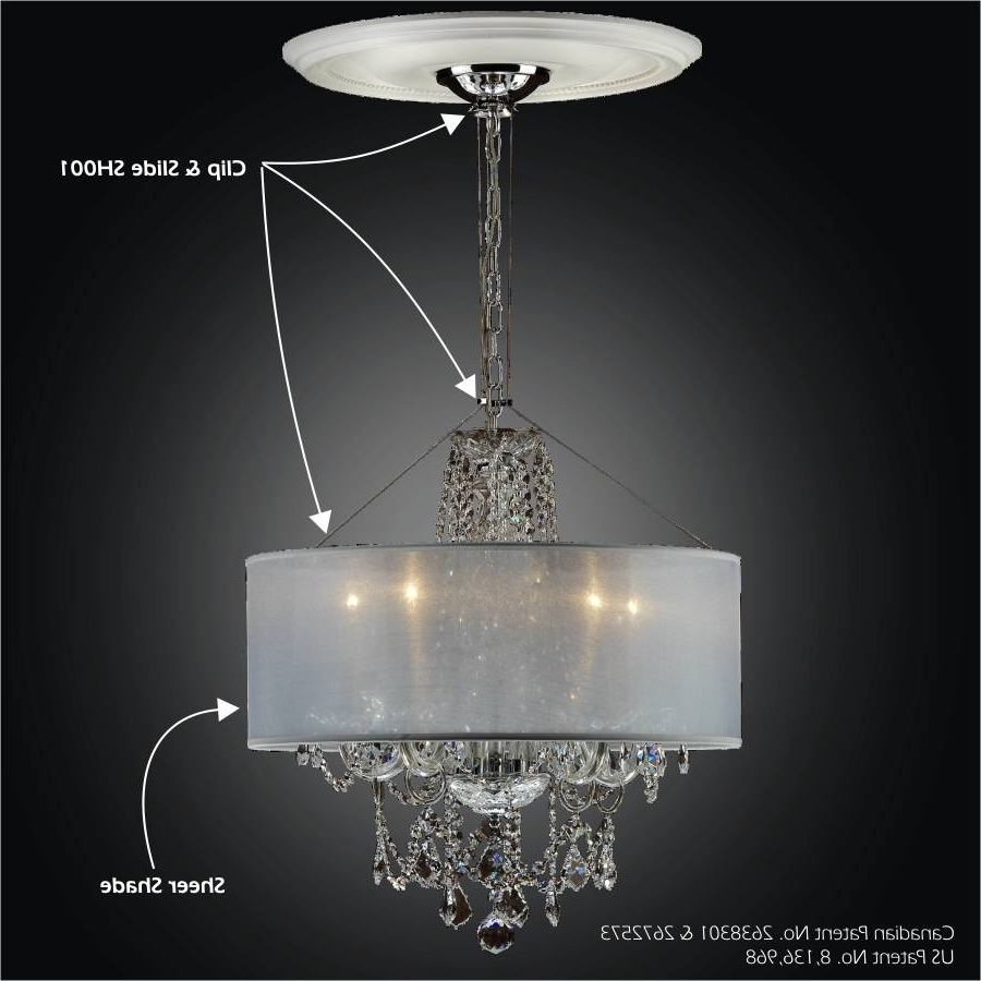 Sheer Magic Sh001 With Regard To Chandelier Accessories (View 3 of 20)