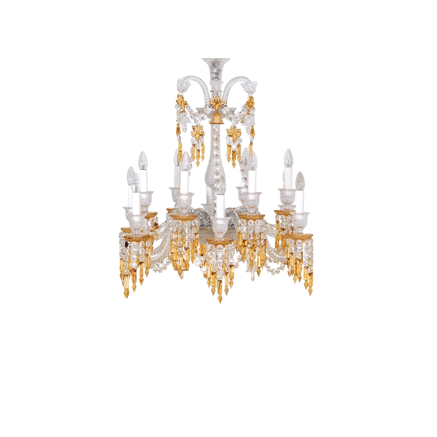 Short Chandeliers Throughout Popular Chandelier 12L Baccarat Zenith Charleston  (View 17 of 20)