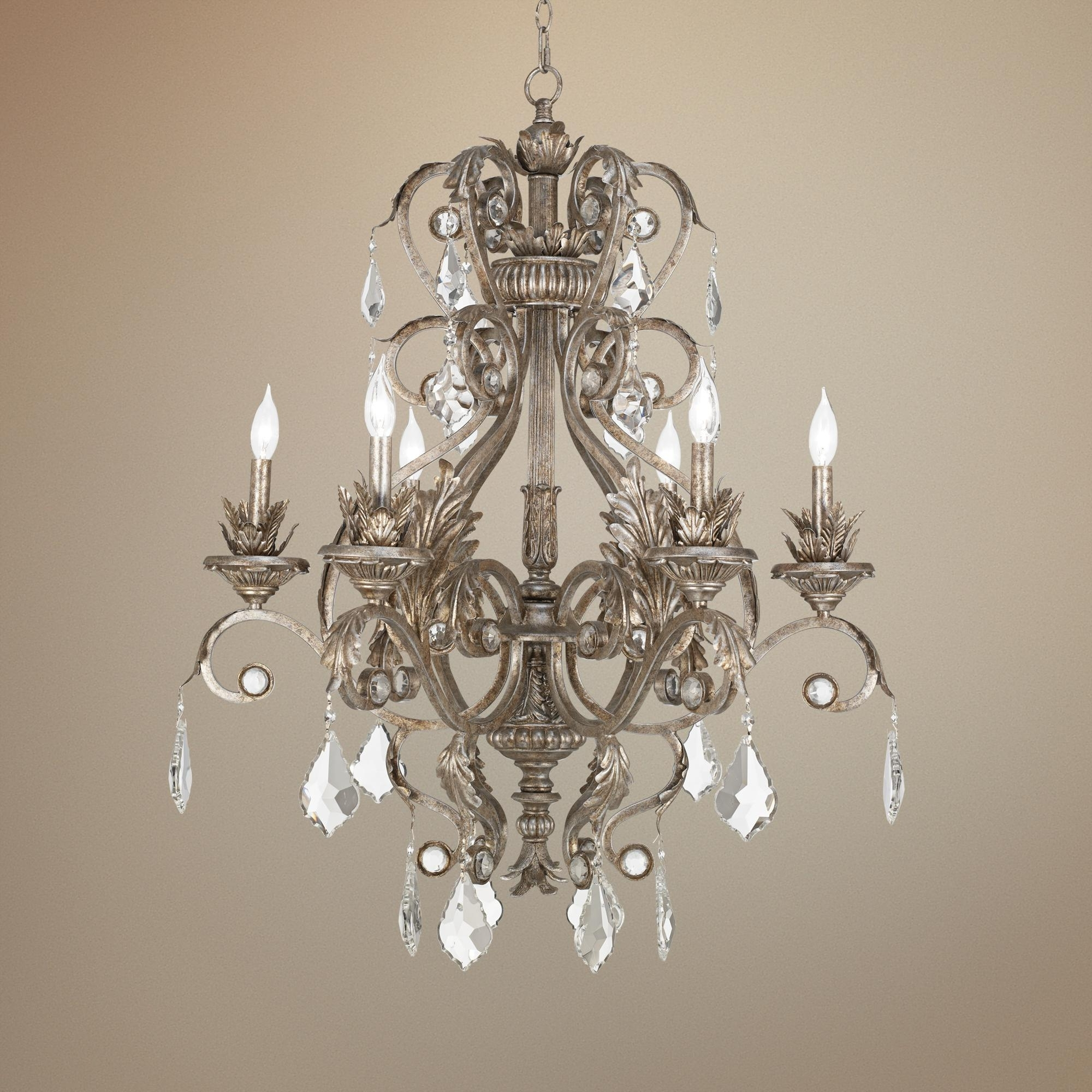 Silver Within Most Current Chinoiserie Chandeliers (View 17 of 20)