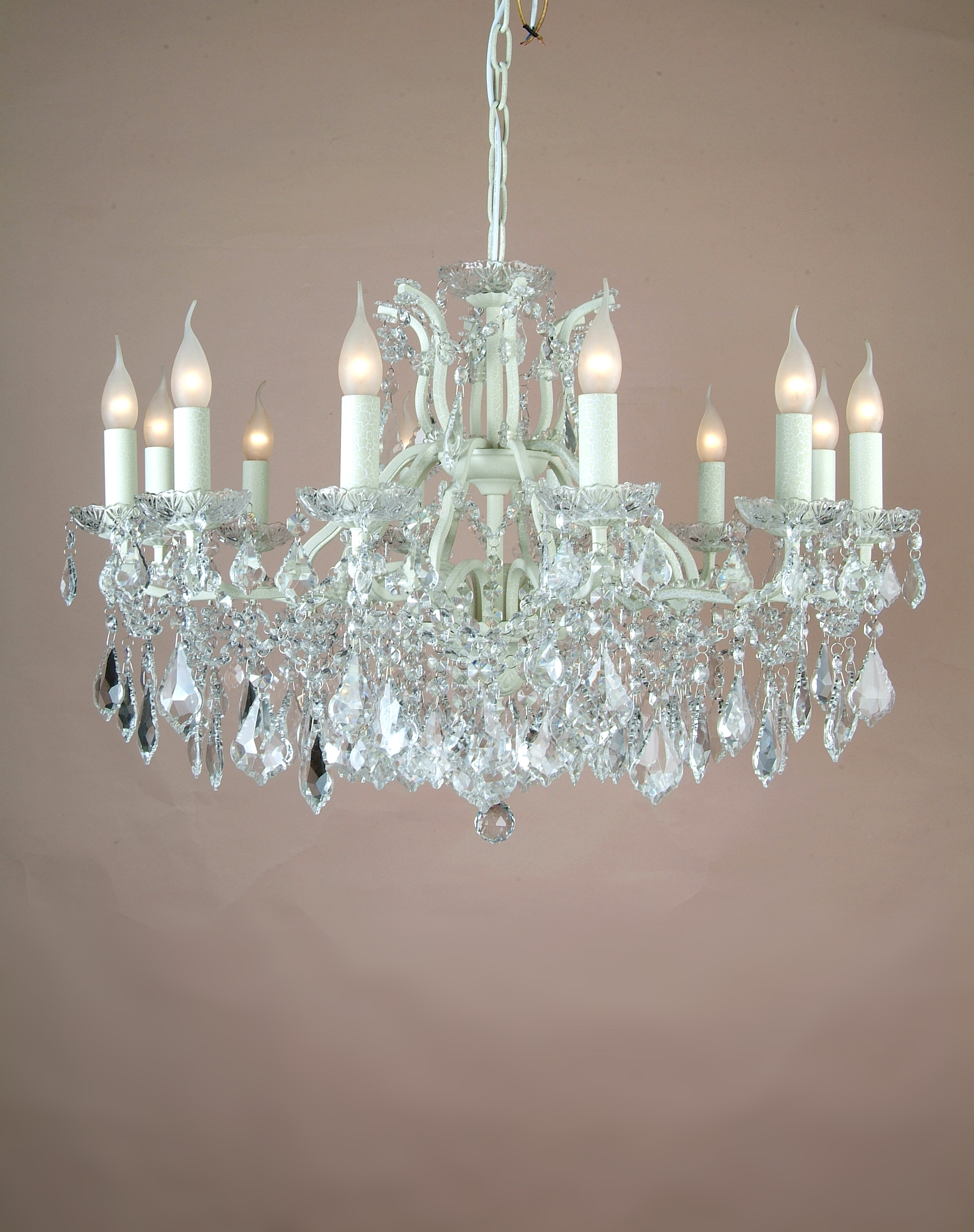 Simple Glass Chandelier In Favorite Chandeliers Glass – Pixball (View 12 of 20)