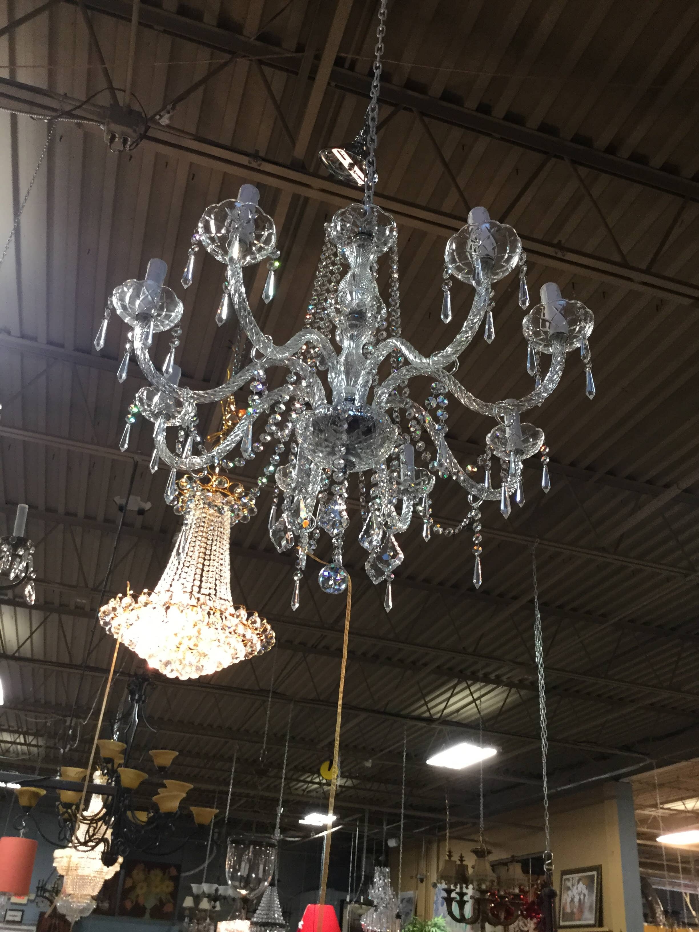 Simple Glass Chandelier In Newest Chandelier : Gold Chandelier Glass Chandelier Chandelier Lamp Tree (View 13 of 20)