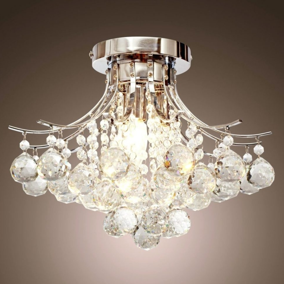 Simple Glass Chandelier Pertaining To Newest Chandeliers Design : Awesome Lamp Modern Chandelier Lighting Claxy (View 14 of 20)