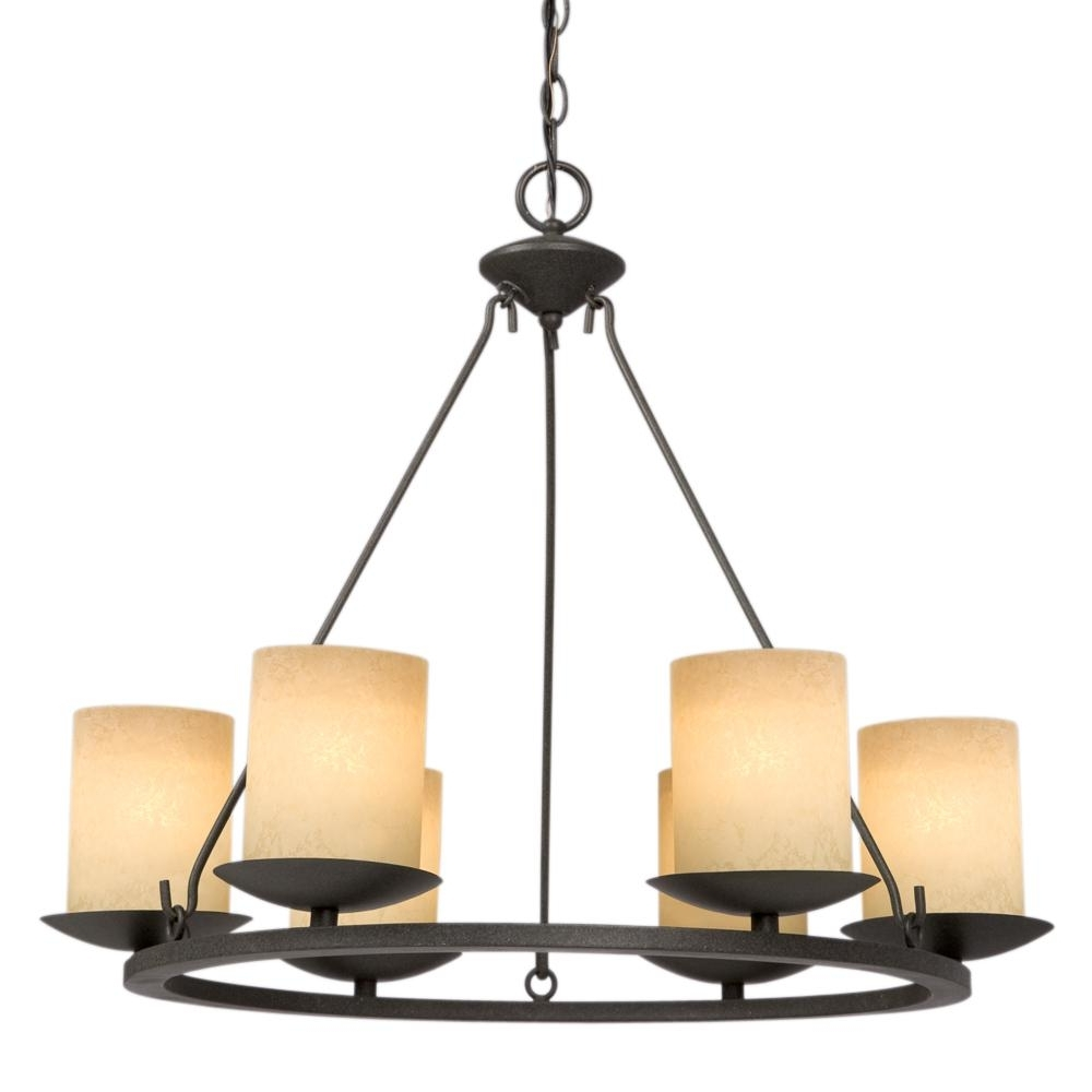 Six Light Bronze Candle Chandelier : 6Xkxl (View 16 of 20)