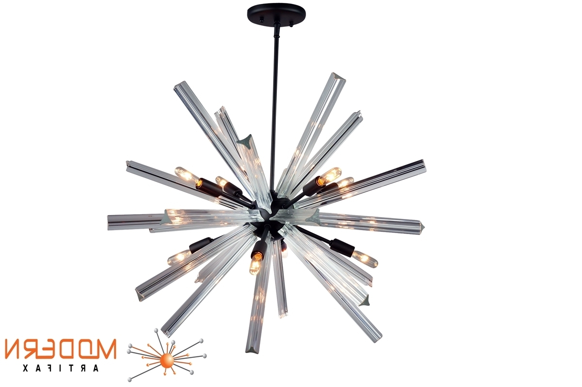 Sputnik Chandelier Oil Rubbed Bronze Finish 27'' In Diameter With 24 Intended For Most Recently Released Murano Chandelier Replica (View 9 of 20)