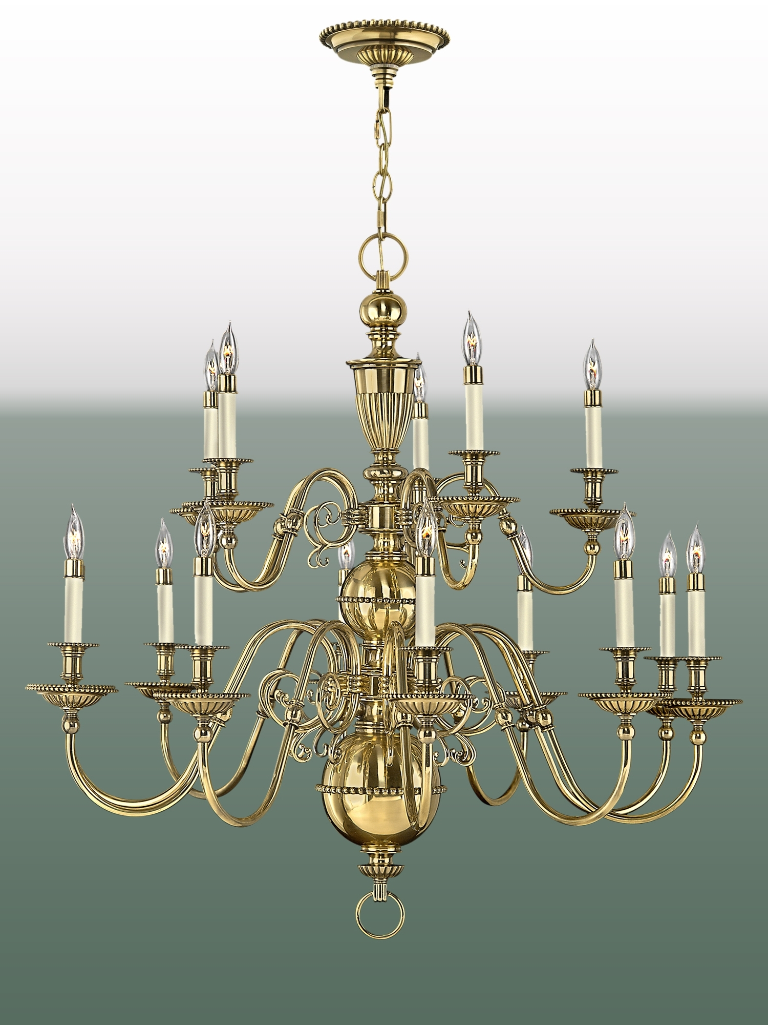 The Chandelier & Mirror Company Pertaining To Brass Chandeliers (View 4 of 20)