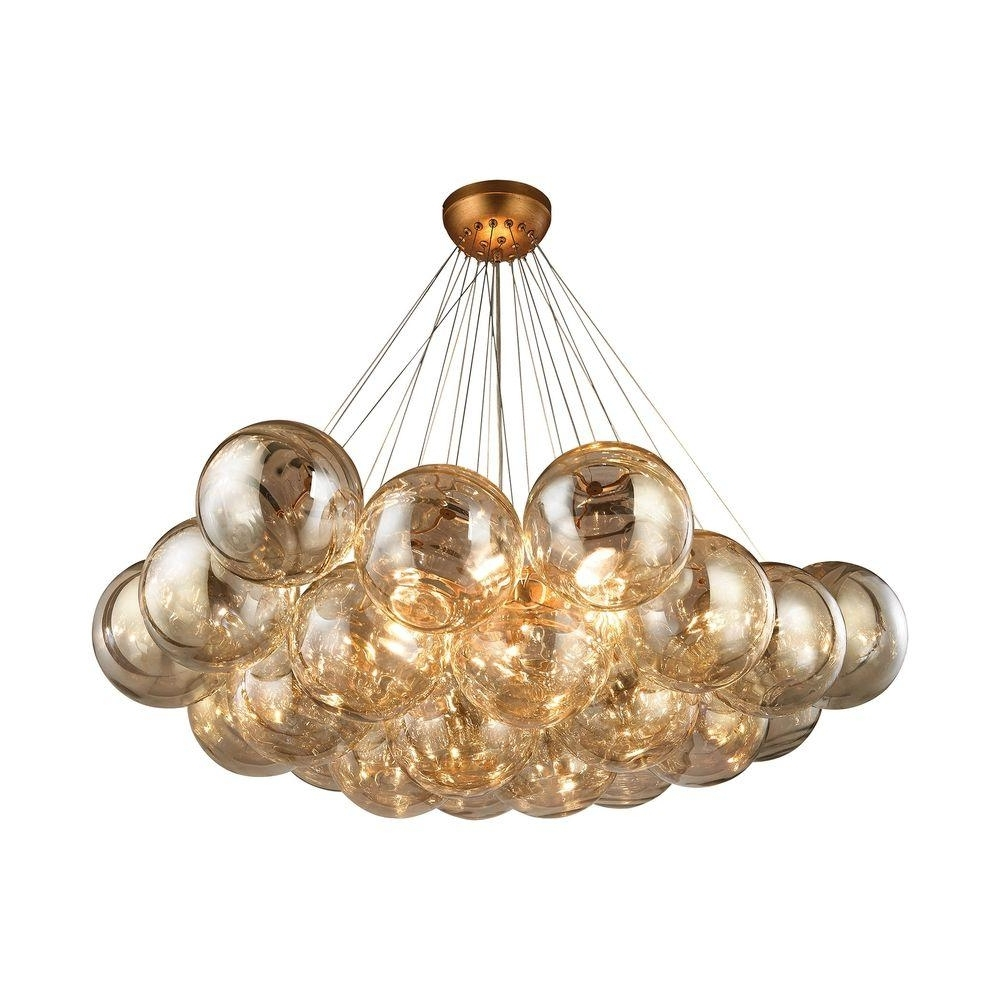 Titan Lighting Cielo 6 Light Antique Gold Leaf Chandelier Tn 999699 Within Preferred Gold Leaf Chandelier (View 20 of 20)