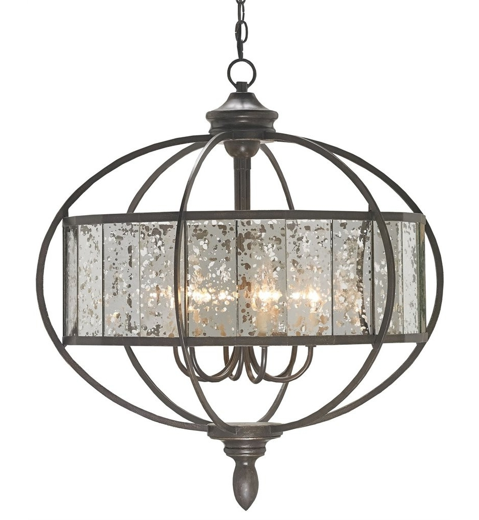Trendy Antique Mirror Chandelier Pertaining To Dining Room Chandeliers & Ceiling Lights For Dining Rooms (View 17 of 20)
