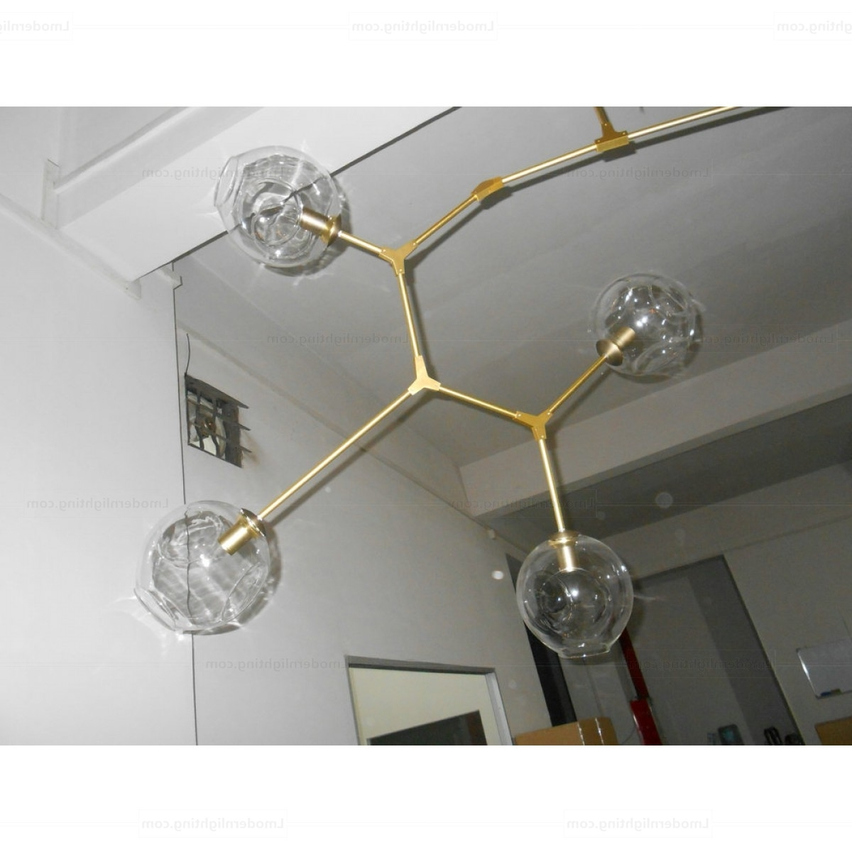 Trendy Branching Bubble Chandelier 11 Globe Inside Chandelier Globe (View 18 of 20)